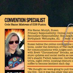 GG JOE PROFILE: MISTRESS OF CON-FUSION