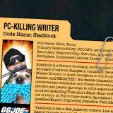 GG JOE PROFILE: STATBLOCK