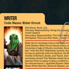 GG JOE PROFILE: ELDER GRUNT