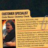 GG JOE PROFILE: CLICKETY CLACK