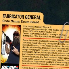 GG JOE PROFILE: DOOM BEARD