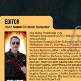 GG JOE PROFILE: NUCLEAR REDACTOR