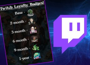 Official Badges For Our Twitch Subscribers!