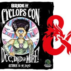 Run Games For Our D&D 5E Track At Bride Of Cyclops Con