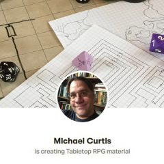 Check Out Michael Curtis's Page On Patreon!