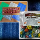 New In The Online Store: Weird Dice Trays and a Half Pound of Dice!