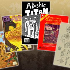 101 City Encounters, Akashic Titan, and Three Other New Titles Now Available!