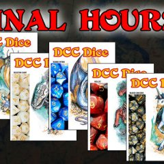 Last Chance To Pledge For New DCC Dice Sets!