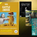 Castle Amber Now Available! Plus New Third-Party Releases!