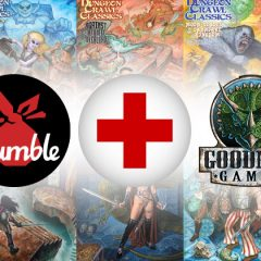 Goodman Games and Humble Bundle Donate over $30,000 to The American Red Cross