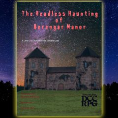 New in the Online Store: The Headless Haunting of Berengar Mansion