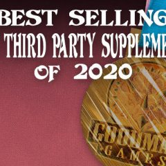 Best Selling DCC RPG Third Party Supplements of 2020