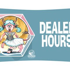 Announcing The Hours For The Dealers Hall And Artist Alley