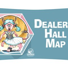 Map of the Dealers Hall at Spawn of Cyclops Con