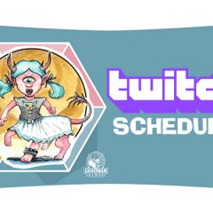 Spawn of Cyclops Con Twitch Schedule