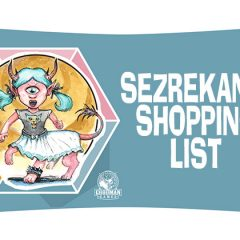 Sezrekan's Shopping List