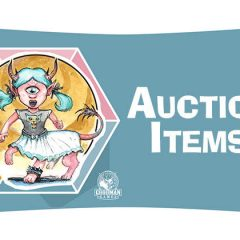Amazing Items Up For Auction at Spawn of Cyclops Con!