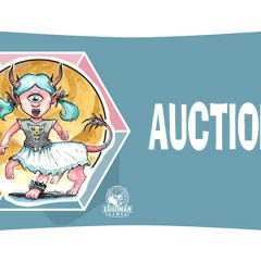 Announcing the Auction at Spawn of Cyclops Con!