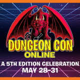 Event Registration Open for Dungeon Con Online!