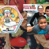 Announcing The Donation To The Franklin Food Bank