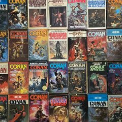 Free Conan Novel With Purchase