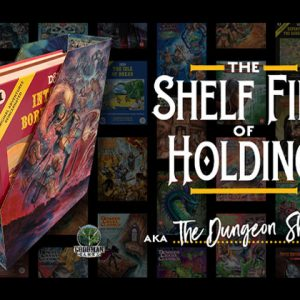 Final Hours for Shelf File of Holding Kickstarter!