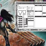 Form-Fillable Level 0 DCC Character Sheet