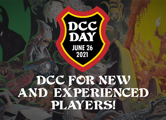 New Players Welcome for DCC Day Online!