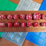 New In The Online Store: Multi-Colored Weird Dice Trays