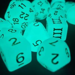 New in the Online Store: DCC Chaotic Wizard Glow Dice