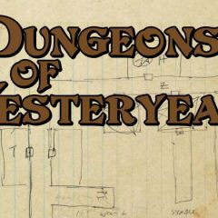 Dungeons of Yesteryear: Julian Bernick's Early Designs