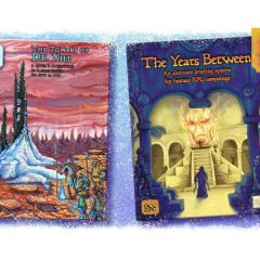 Final Hours to Back the DCC Kickstarter for The Towers of Dr. Xill and The Years Between