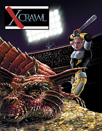 Xcrawl GM Screen & Adventure